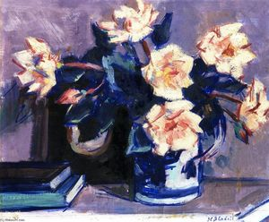 Francis Campbell Boileau Cadell - 玫瑰