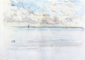 James Abbott Mcneill Whistler - 海景,迪耶普