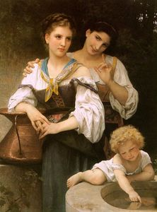 William Adolphe Bouguereau - 秘诀