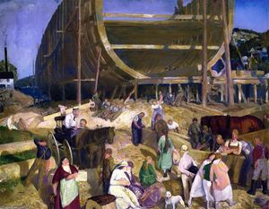 George Wesley Bellows - 船厂协会