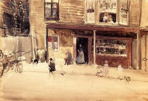 James Abbott Mcneill Whistler - 商店 - 外部