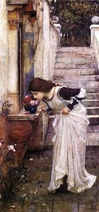 John William Waterhouse - 神殿