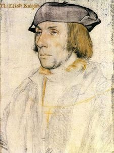 Hans Holbein The Younger - 先生 托马斯·艾略特