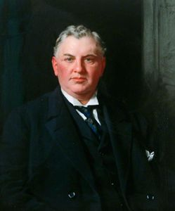 Samuel Henry William Llewellyn - 先生 威廉 C . 灰色