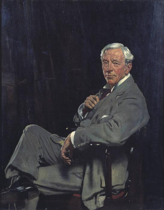 威廉爵士麦考密克, 油画 通过 William Newenham Montague Orpen (1878-1931, Ireland)