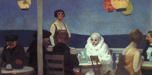 Edward Hopper - 晚报 布鲁