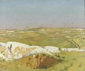 William Newenham Montague Orpen - 索姆河 一个 明确 天