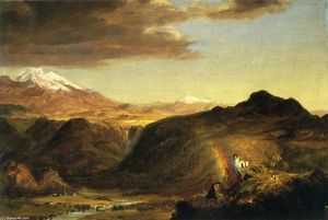 Frederic Edwin Church - 南 美国 景观