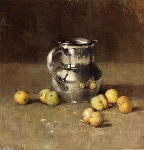 Soren Emil Carlsen - Still LIfe with  投手 and Pivar