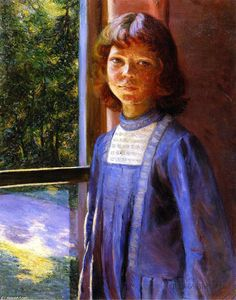 Lilla Cabot Perry -  研究 光 和 反思