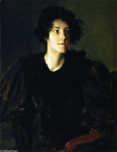 William Merritt Chase - 研究  西班牙  女孩 ( 也被称为 一个  西班牙  女孩 )