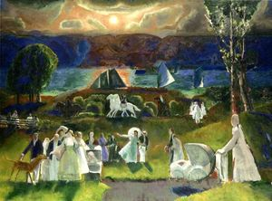 George Wesley Bellows - 夏季 幻想