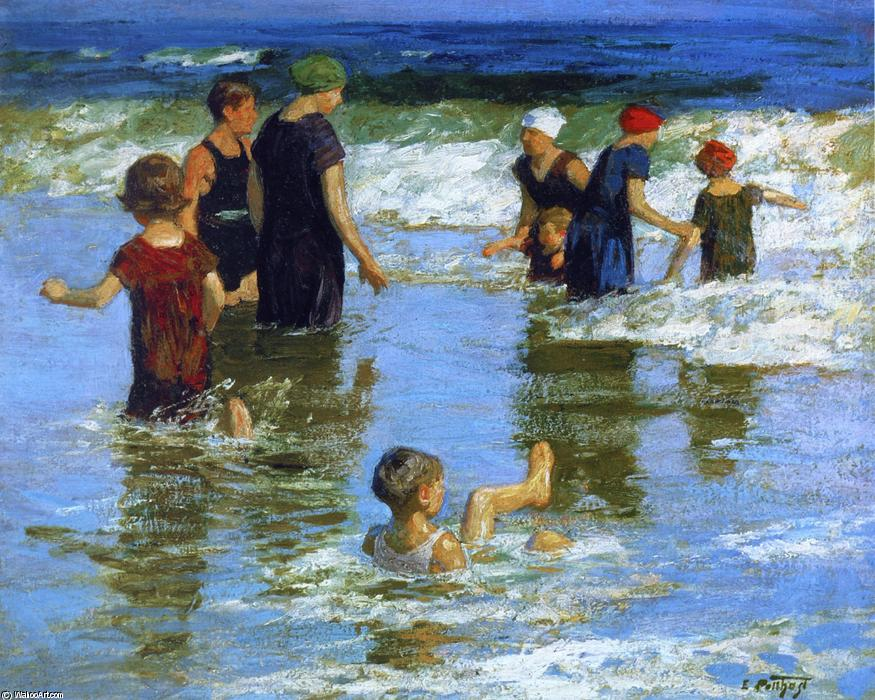 夏欢 通过 Edward Henry Potthast (1857-1927, United States) | 畫再現 | WahooArt.com