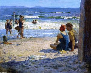 Edward Henry Potthast - 太阳和阴影