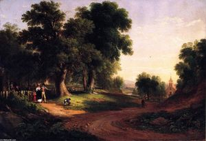 Asher Brown Durand - 周日上午