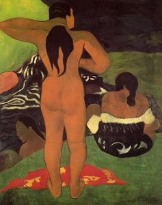Paul Gauguin - 大溪地女人出浴