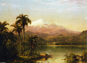 Frederic Edwin Church - Tamaca棕榈