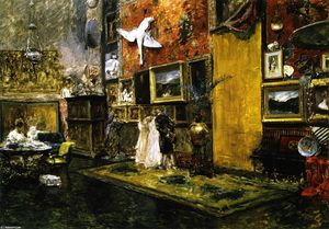 William Merritt Chase - 第十届街工作室(又称第十届街工作室)