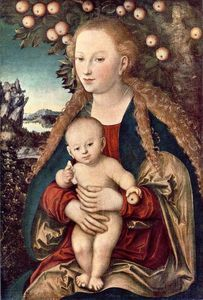 Lucas Cranach The Elder - 圣母子