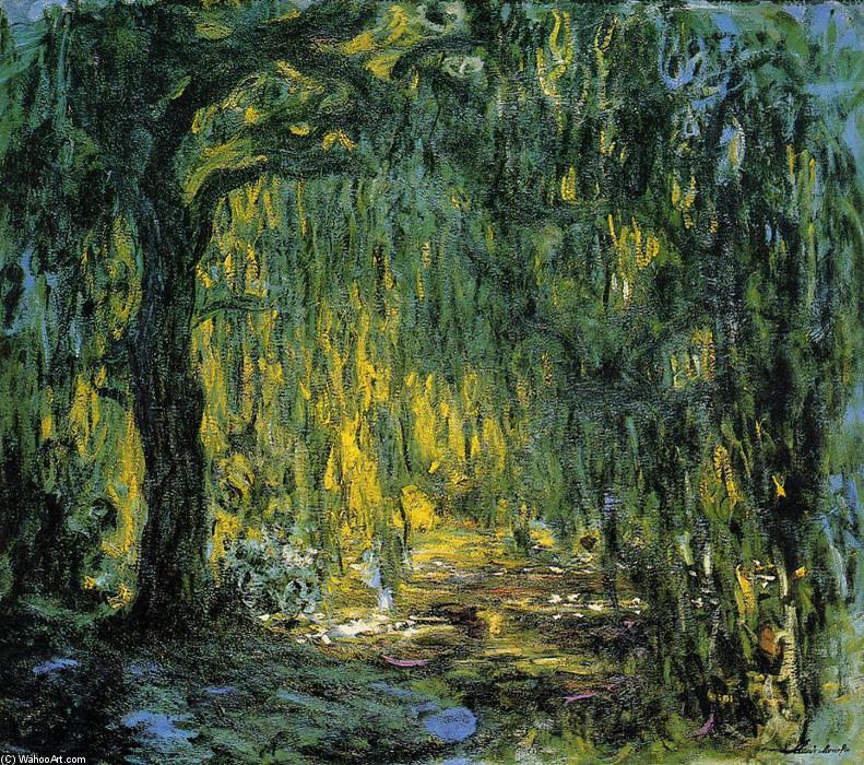 垂柳, 1918 通过 Claude Monet (1840-1926, France) | WahooArt.com