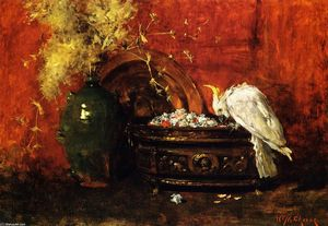 William Merritt Chase - 白凤头鹦鹉