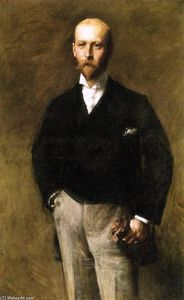 William Merritt Chase - 威廉·查尔斯·勒Gendre