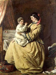 William Powell Frith - 晚上 祈祷  -