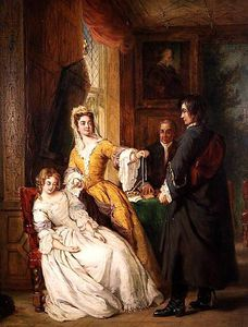 William Powell Frith - 爱 象征  -