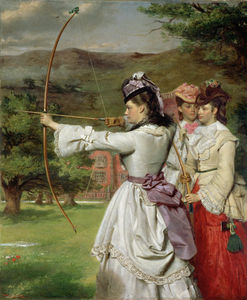 William Powell Frith - 公平Toxophilites