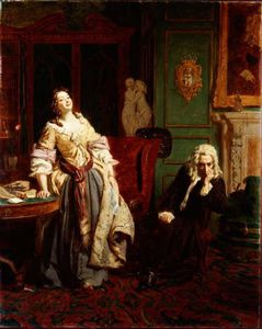 William Powell Frith - 被拒绝 诗人  -