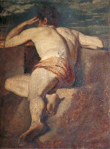 William Etty - 男性裸体