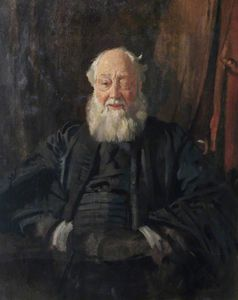 William Newenham Montague Orpen - 博士 管家  在  长袍