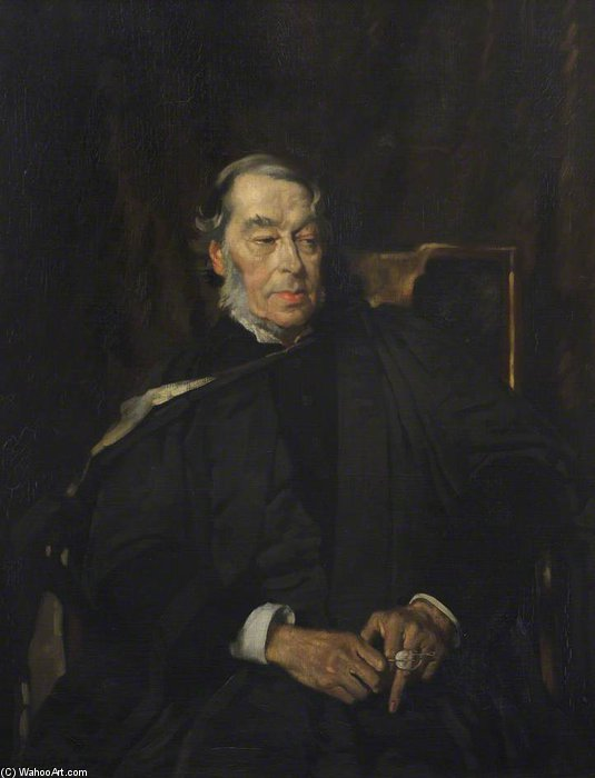 约瑟夫 Bickersteth 市长 通过 William Newenham Montague Orpen (1878-1931, Ireland) | 手工畫 | WahooArt.com