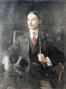 William Newenham Montague Orpen - 亨利·珀西·哈里斯爵士