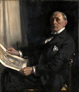 William Newenham Montague Orpen - 沃尔特·塔珀先生