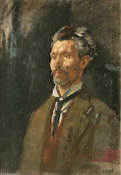 无 通过 William Newenham Montague Orpen (1878-1931, Ireland) | 幀打印 | WahooArt.com