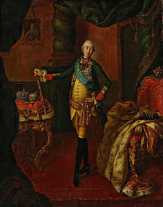 Alexey Petrovich Antropov - 肖像 Of Peter Iii