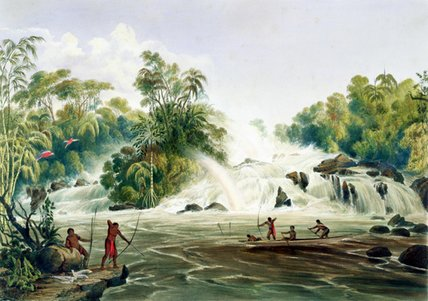 结Kundanama与Paramu 通过 Charles Bentley (1805-1854, United Kingdom)