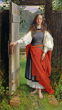 信仰 通过 George Dunlop Leslie (1835-1921, United Kingdom)