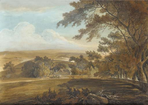 一匹马 画  运输  通过 William Payne (1760-1830, United Kingdom)