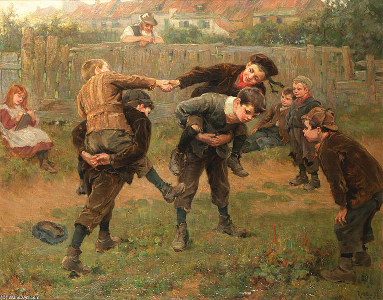 本次比赛 通过 Ralph Hedley (1848-1913, United Kingdom)