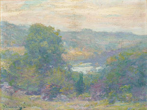 Robert William Vonnoh - 黄昏