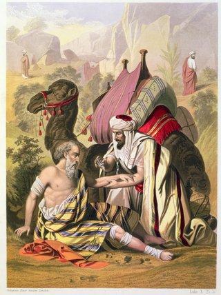 好撒玛利亚人 通过 siegfried detler bendixen (1786