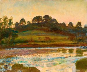 Alfred James Munnings - Brightworthy 涉 , Withypool , 埃克斯穆尔 -
