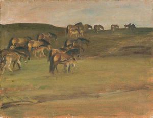 Alfred James Munnings - 埃克斯穆尔小马
