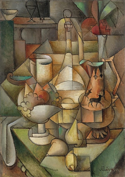 自然莫提 通过 Jean Dominique Antony Metzinger (1883-1956, France) | 幀打印 | WahooArt.com