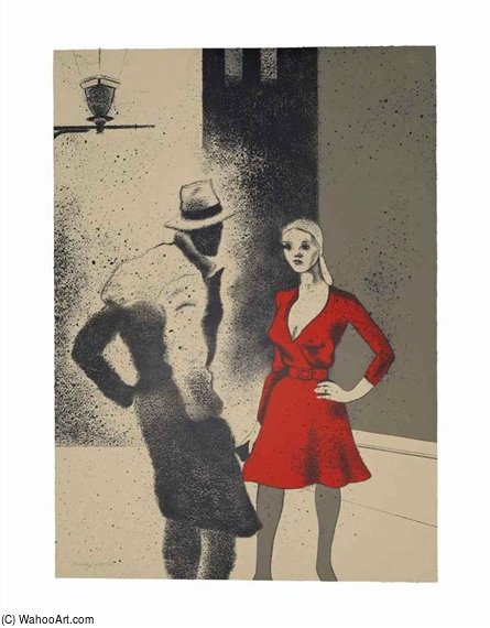 a 生命 通过 Ronald Brooks Kitaj (1932-2007, United States)