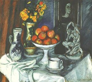 Armand Schonberger - Still-life 与 Fruit-dish