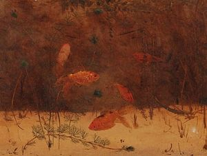 Gerrit Willem Dijsselhof - Gold-fish