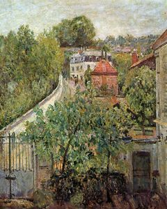 Alfred Sisley - 视图S_vres太阳